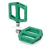Педали XLC PD-M19, 312 гр, зеленые