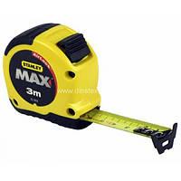 Рулетка вимірювальна MAX 3 м. Stanley