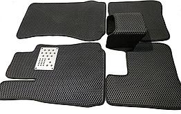 Автоковрики iKovrik ViP 5 шт в комплекте до восьми креплений, подпятник метал, 4 шильдика vol ZZ, КОД: 1584433
