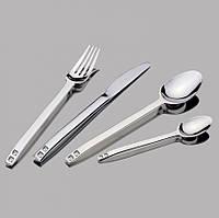 Набор столовых приборов 24 предмета SPIGA 2 Swarovski  White