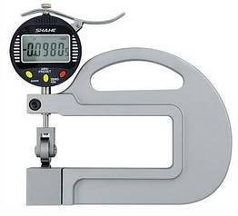 Толщиномер электронный  0-10 мм 0.001 Shahe  5335-10 Серый с черным mdr2422 ZZ, КОД: 1125687