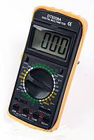 Цифровой мультиметр (тестер) DT9208A + щупы