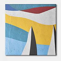 Картина Хвилі фарб Настільний Store 35x35 см KV0802 TE, КОД: 2653993