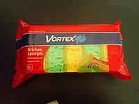 """Губки пористые ТМ """"Vortex"""" 5 шт."""