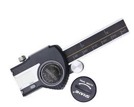 Штангенциркуль трубный Shahe 0-200 0.01 мм с бегунком Черный mdr1304 ZZ, КОД: 162214