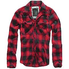 Рубашка Brandit Check S Красный 4002.41 ZZ, КОД: 272439
