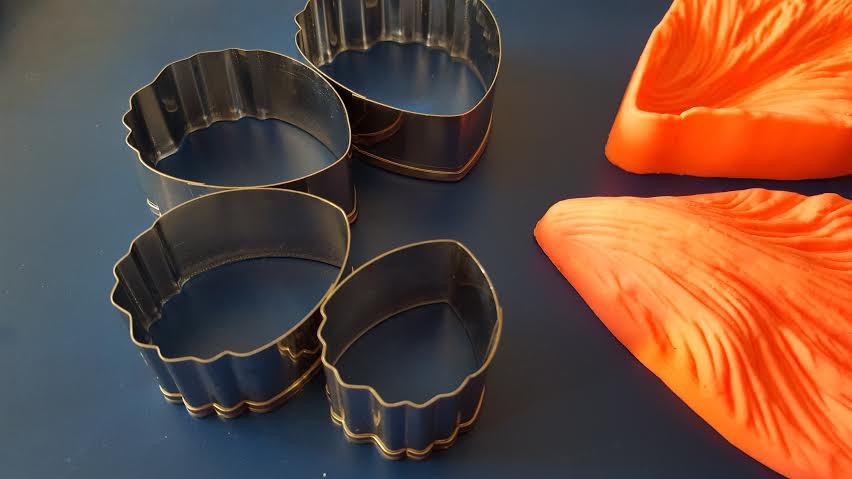 Каттер лепесток универсальный, металл, 4 шт.