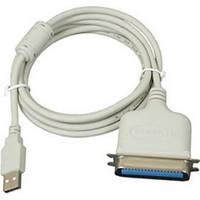 Кабель Gembird USB-LPT (CUM360) 1.8м