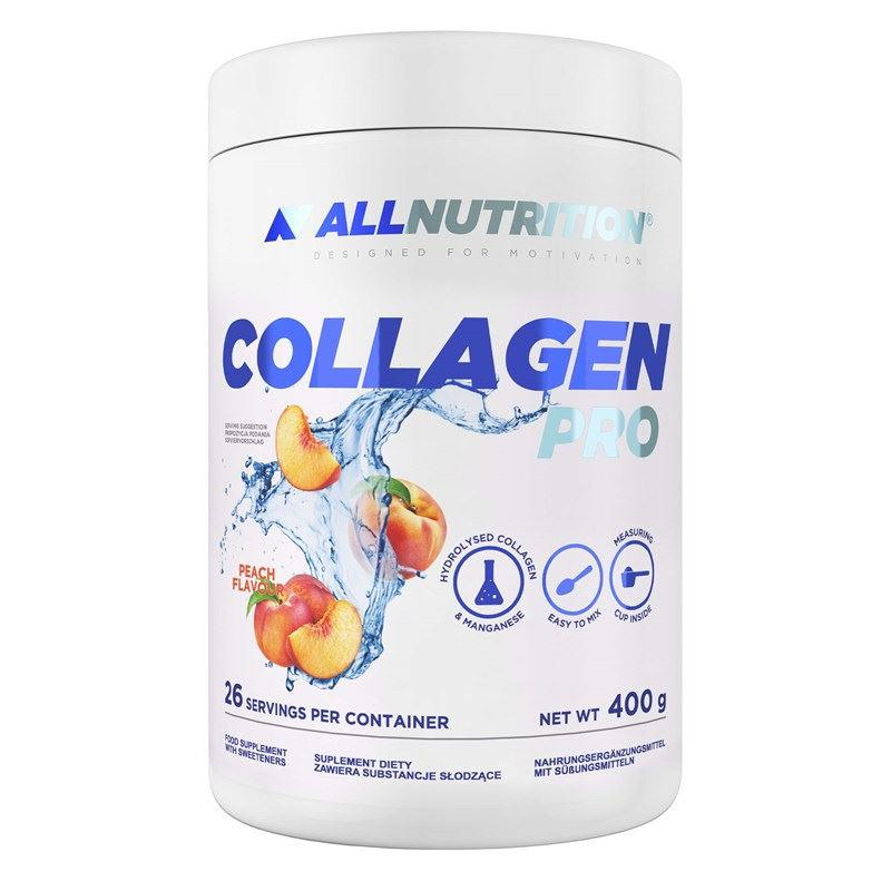 Для суставов и связок AllNutrition Collagen Pro, 400 грамм Персик
