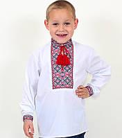 Детская вышиванка для мальчика с красивой вышивкой , 7-12 лет, фото 1