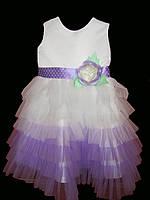 ПРОКАТ нарядное платье для девочки, 110-116см