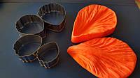 Набор вайнер листок универсальный+каттер ( 4 шт.,металл), фото 1