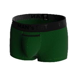 """Мужские трусы анатомические """"Black Series"""", Modern, тёмно-зелёный"""