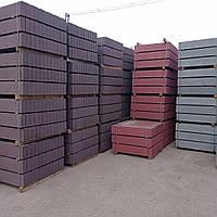 Бордюр тротуарный  80*200*1000 мм.коричневый