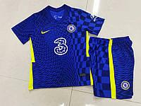 Дитяча футбольна форма Челсі синя 2021-2022