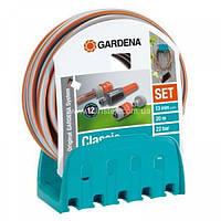 Кронштейн настінний з шланг Gardena Classic 18 м