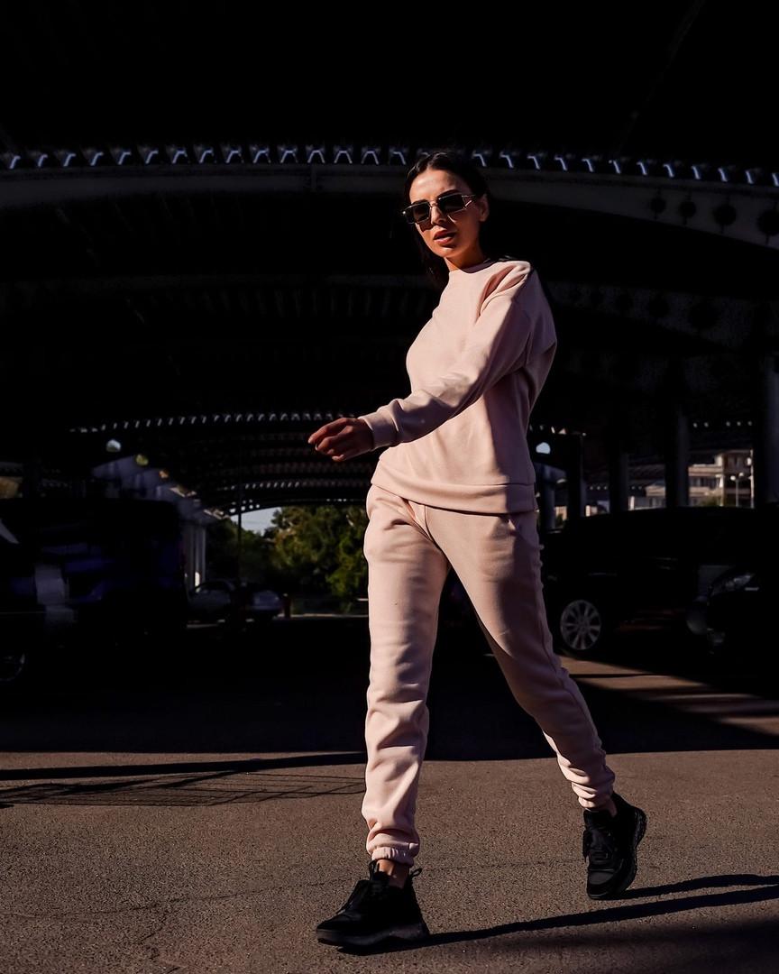Жіночий спортивний костюм на флісі «Дует» #90