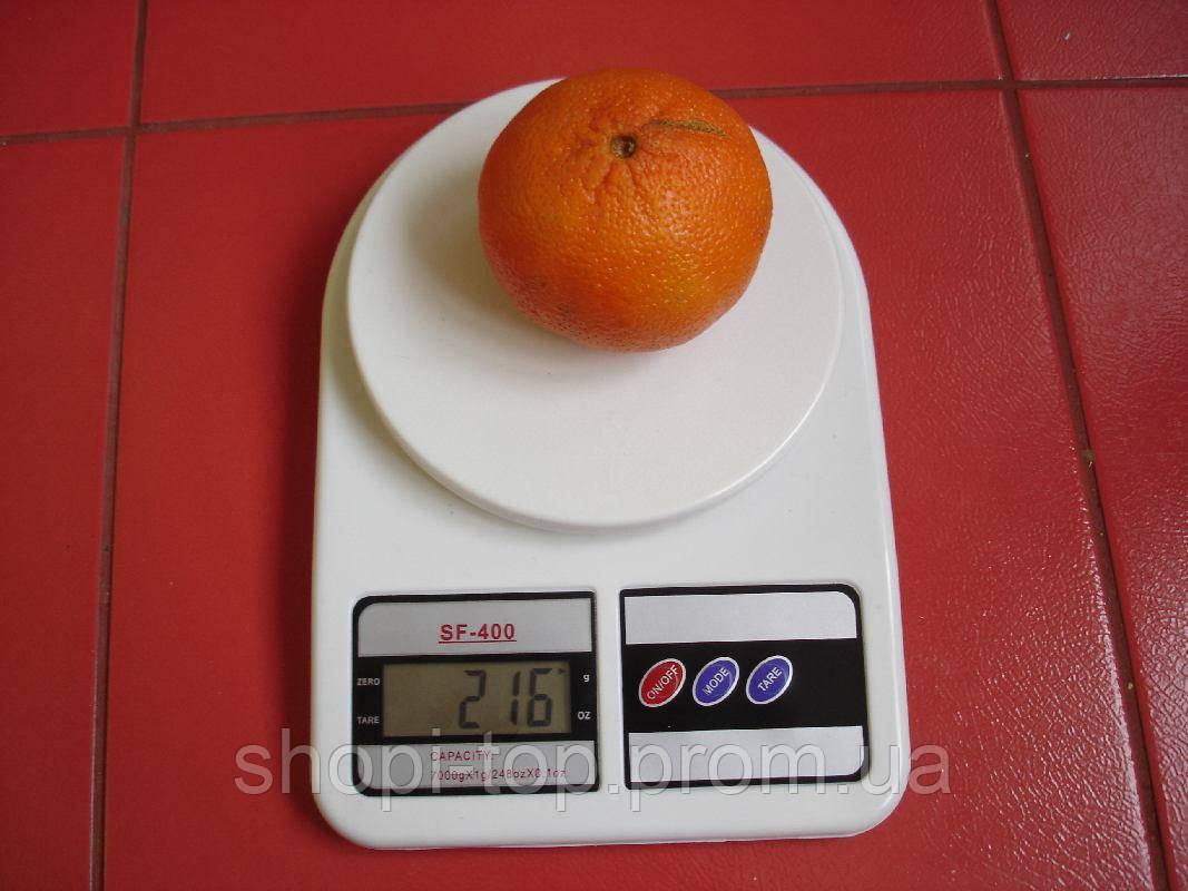 Электронные кухонные весы до 7 кг+батарейки