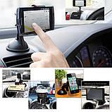 Держатель для смартфона телефона навигатора в авто, фото 4