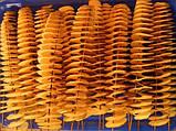 Универсальная машинка нарезки овощей и фруктов спиралью Spiral Potato Chips, фото 10