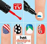 Hot designs - набір для дизайну нігтів, фото 4