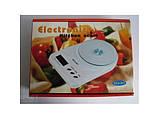 Кухонные весы до 7 кг (SCA-301) с батарейками, фото 3