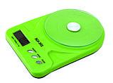 Кухонные весы до 7 кг (SCA-301) с батарейками, фото 8