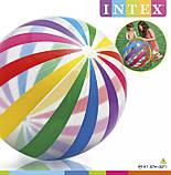 Intex 59065 (107 см) Надувной мяч, в кульке, 25-26см, фото 6