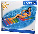 Матрас пляжный 198*94 см кресло Intex (58870), фото 2
