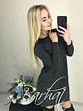 Платье женское Ангора Софт с ЛЮРЕКСОМ , 42-44, 44-46 ,Цвета: меланж, графит, код 0296, фото 7