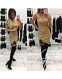 Платье женское,Трикотаж + Дорогое Кружево,42-46 универсал ,код 0224, фото 2