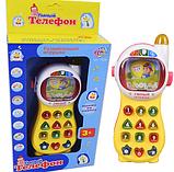 """Интерактивная развивающая игрушка """"Умный Телефон"""" 7028, фото 2"""