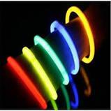 Неонові браслети,light stick, glow stick, 100 шт. Неонові світяться палички, фото 4