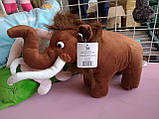 Іграшка м'яка Мамонт Менні, льодовиковий період довжина 36 см, фото 2
