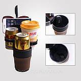 Органайзер холдер для стаканов автомобильный 5в1 Car holder 5 in 1, фото 8