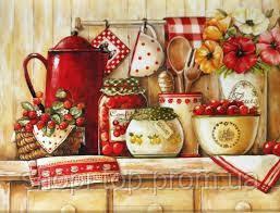 Картина по номерам - Домашні солодощі (КНО2208) ,35*50 см