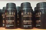 Rubber Top Milano (каучуковое верхнее покрытие для гель лака) 30 ml., фото 2