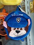 """Детский рюкзак - игрушка для малышей синий """"Щенячий патруль. Крошка Гонщик, фото 2"""