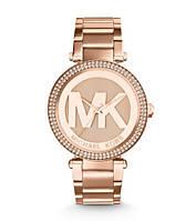 Часы Michael Kors Parker Pavé Rose Gold-Tone MK5865
