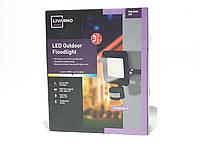 Світлодіодний прожектор LivarnoLux 24 Вт з датчиком руху, фото 1