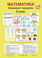 Комплект плакатів. Математика. 2 клас
