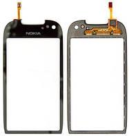 Nokia C7 тачскрин, сенсорная панель, cенсорное стекло