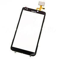 Nokia E7 тачскрин, сенсорная панель, cенсорное стекло