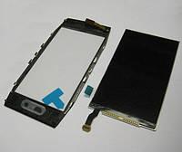 Nokia X7 LCD, модуль, дисплей с сенсорным экраном с рамкой в сборе