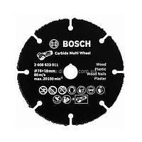Отрезной круг, твердосплавный, по дереву 125x22.23x1,2 Bosch