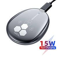 Магнитная MagSafe Беспроводная зарядка для телефона iPhone 12, Pro, Pro Max, Mini