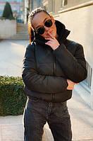 Дута жіноча куртка на синтепухе зимова