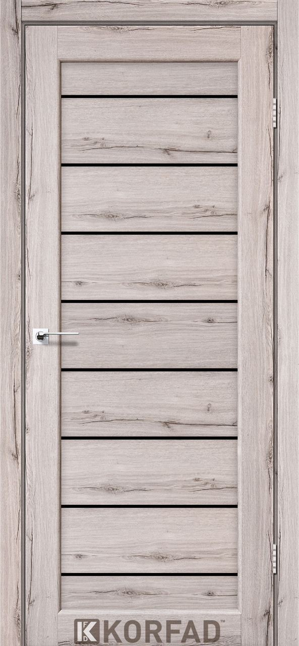 Двері Korfad PND-01 Дуб нордік BLK