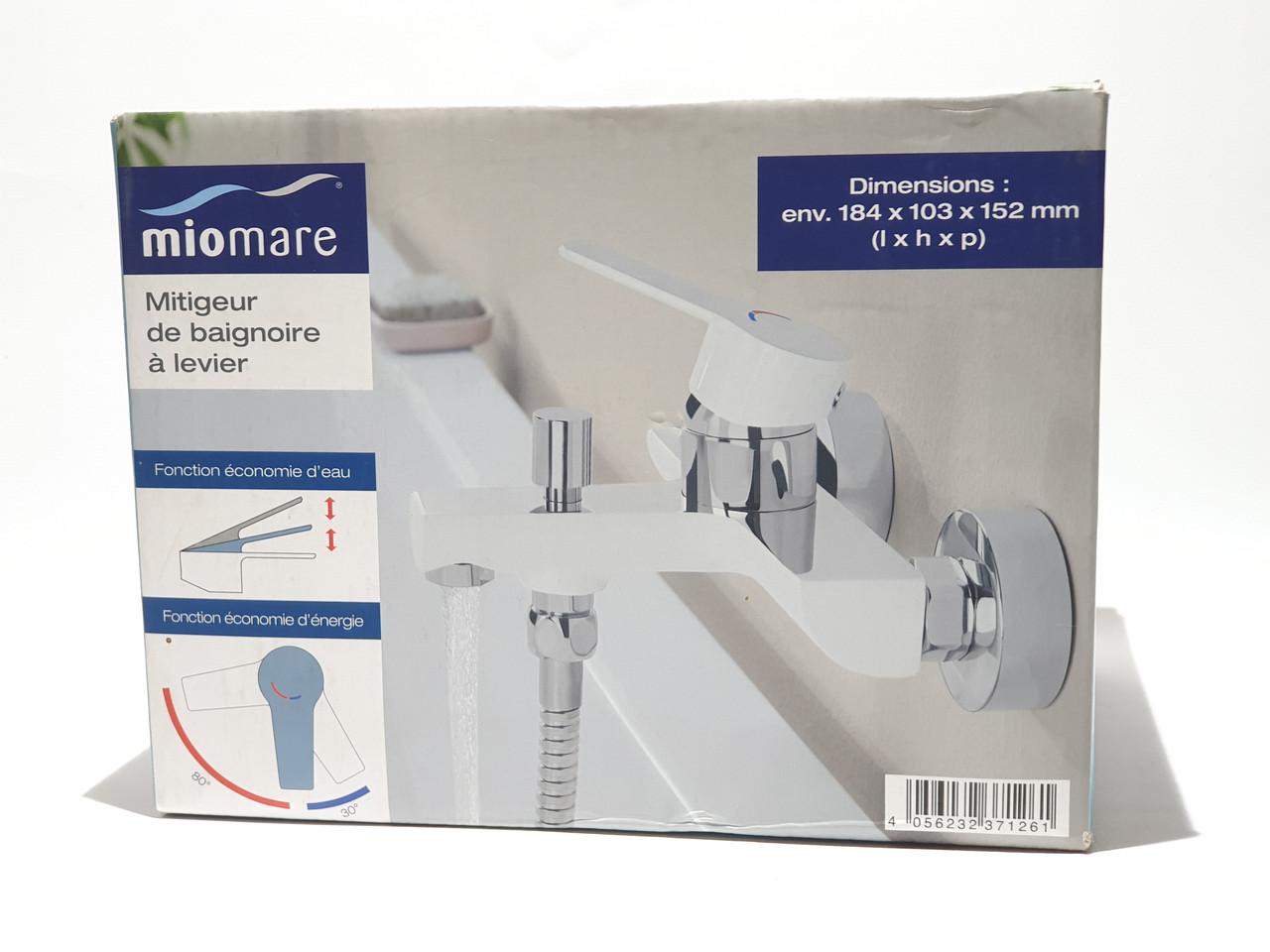 Однорычажный смеситель для  ванны / душа Miomere Германия