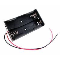 Бокс на две 18650 батареи, 7.4 В, питание Arduino 2000-02488